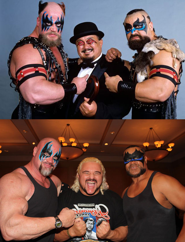 wrestlers then and now