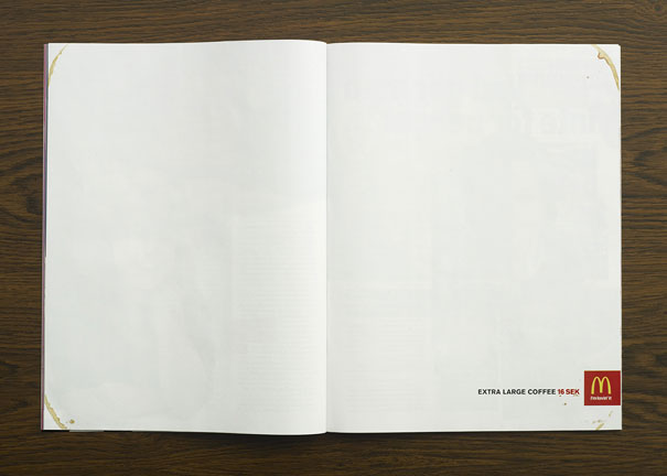 Remarkably Creative Double Page Magazine Ads