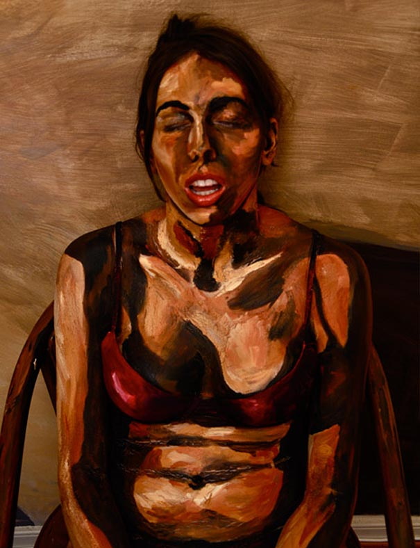 Fake Painting Pictures: Your Body is the Canvas