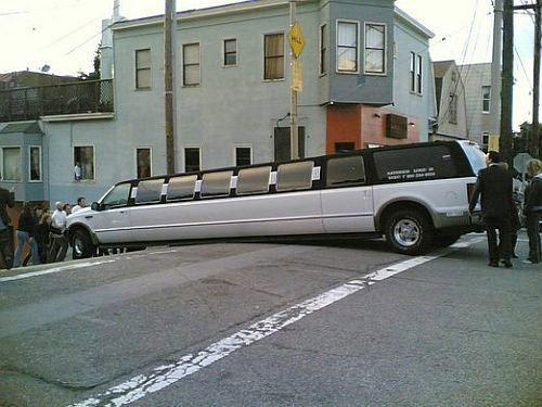god dammit momments limo stuck