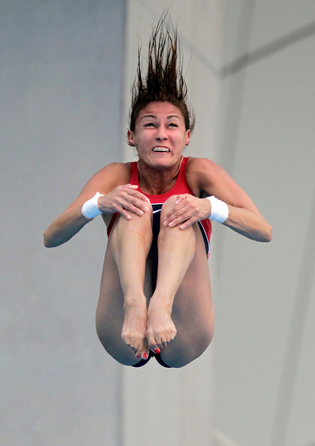 Warped Faces in the Olympic Diving