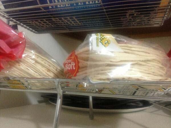 """18.""""I told my husband to buy """"some tortillas."""" He bought 40."""""""