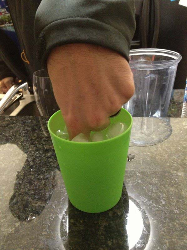"""6.""""I asked my husband to stir my drink, aaaaand this is what he did. Thank you. Exactly what I had in mind."""""""