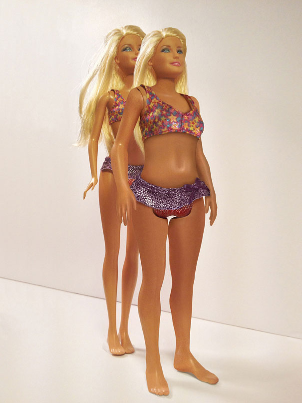 8 Pictures Telling You What Will Happen If a Barbie Looks Like a Real Woman