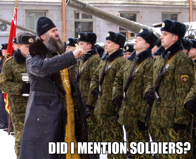 Orthodox Priests That Will Bless ANYTHING