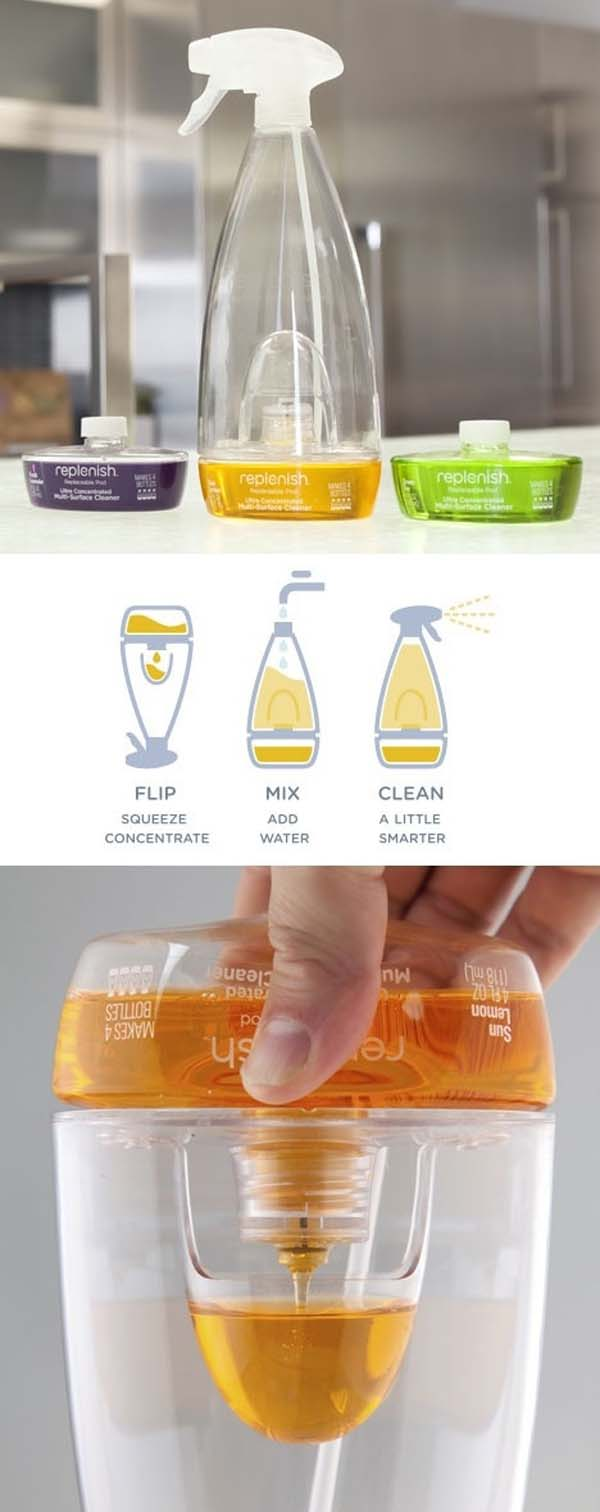 17. Help save the environment by using this reusable spray bottle.