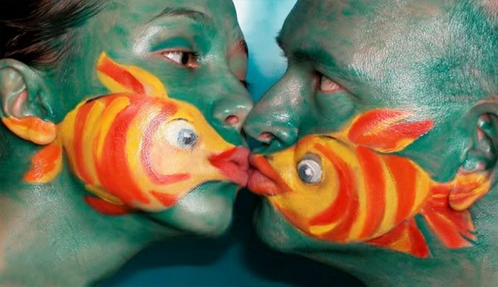 These 22 Animal Body Art Are Just Gorgeous! Can You Find The Human Behind It?