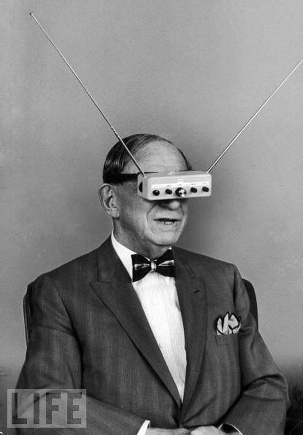 "41. ""TV Glasses,"" a product that never caught on (1963)."