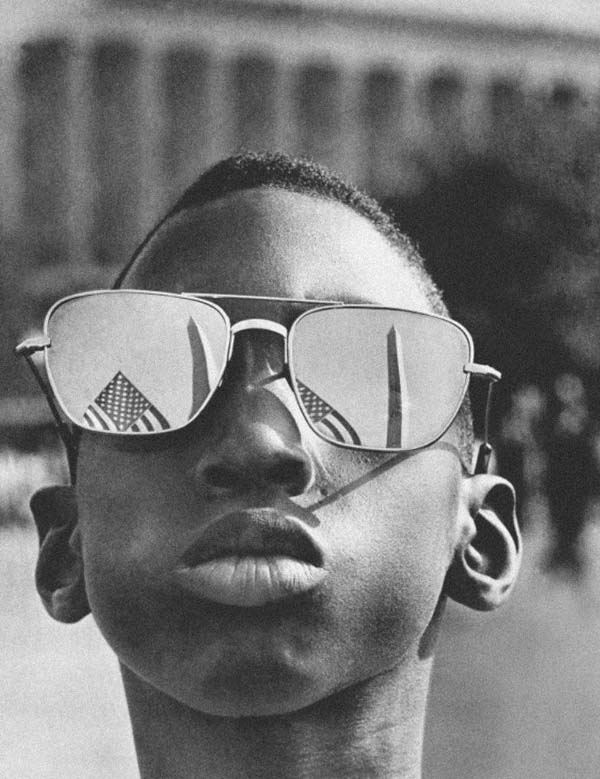 "40. A young boy attends Martin Luther King Jr.'s ""I Have A Dream"" speech (1963)."