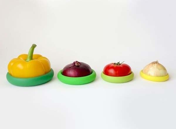 28. Did you know that you were probably cutting and storing your vegetables incorrectly? These veggie covers will help.