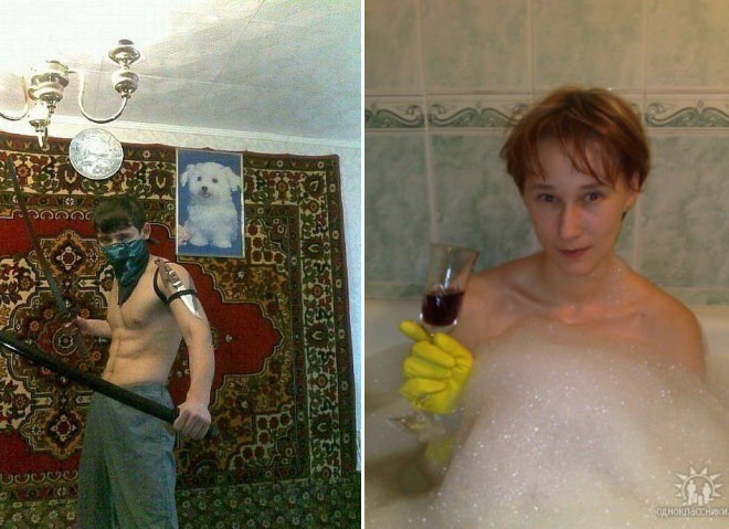 """These Romantic Photos From Russian Dating Sites Perfectly Explain Why It's Called """"Soweird Russia"""""""