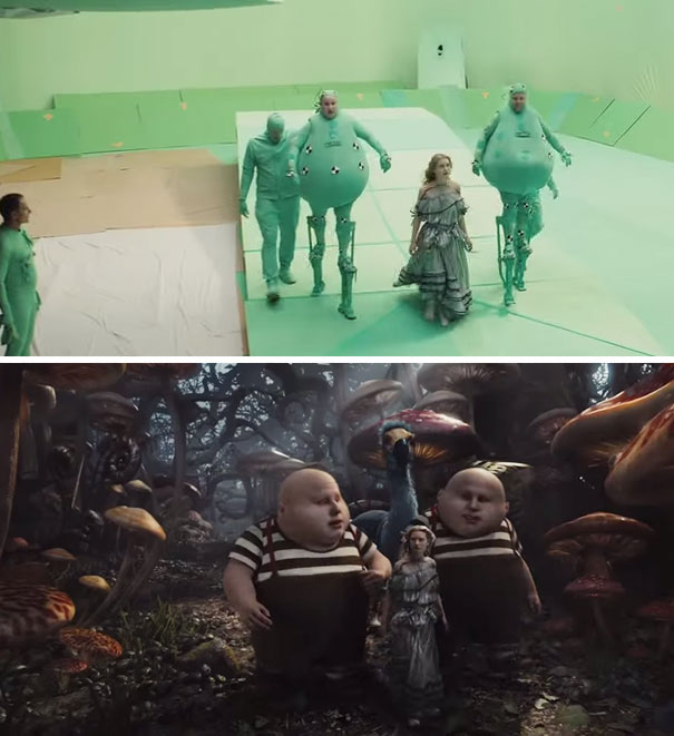18 Before-And-After Pictures Telling You How the Movies Are Made By VFX Shots