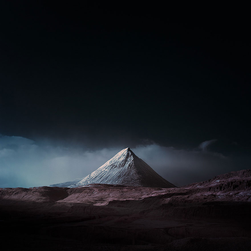 Fascinating Photographs Of Iceland Taken With Infrared Technique