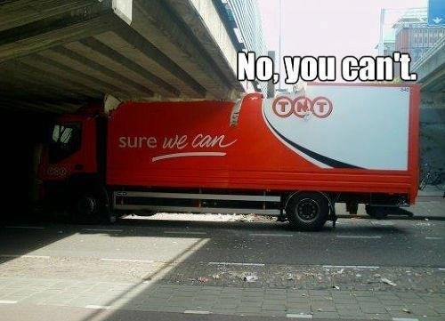 This truck driver.