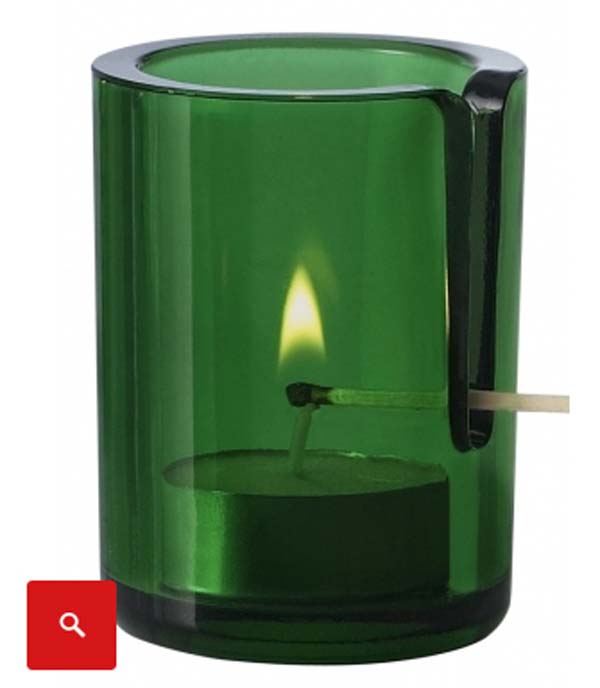 1. Tea light candle holders that keeps you from burning your fingers.