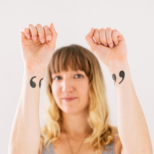 If you don't want to take the full plunge, these temporary tats will do the job.