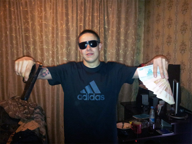 Meet These Badass! Some Russian Gangsters Who Are Obsessed With Adidas And Carpets