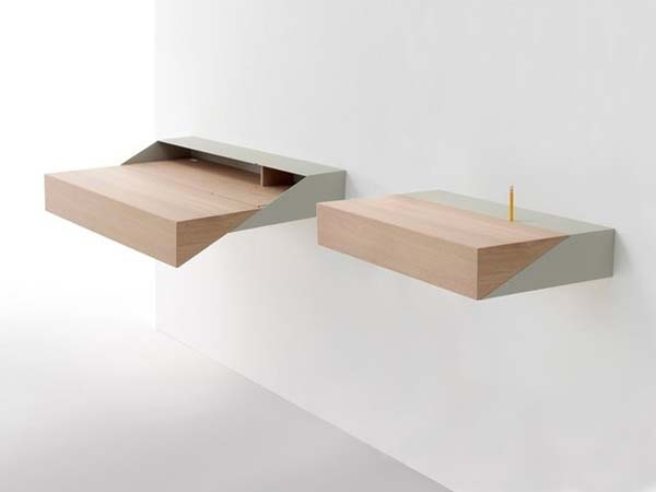 18. Is this a shelf or a desk? Turns out, it's both.