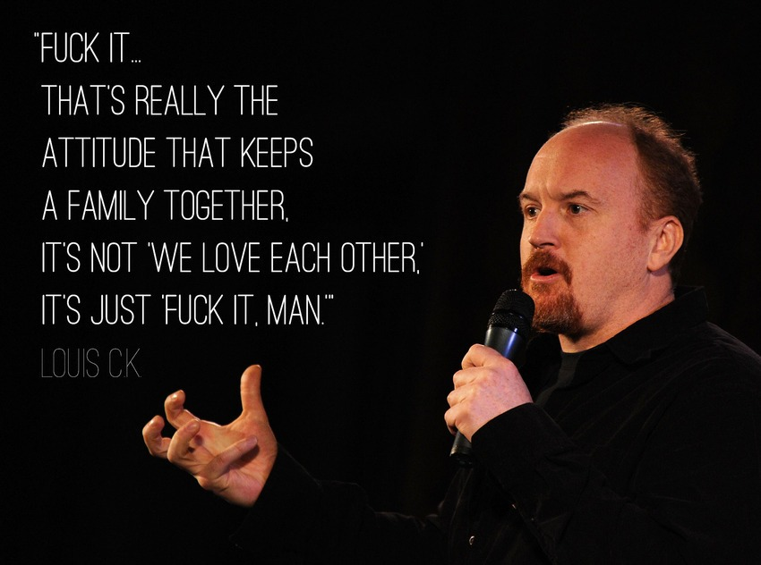 9 Hilarious (And OH So True ) Louis C.K. Quotes On Divorce
