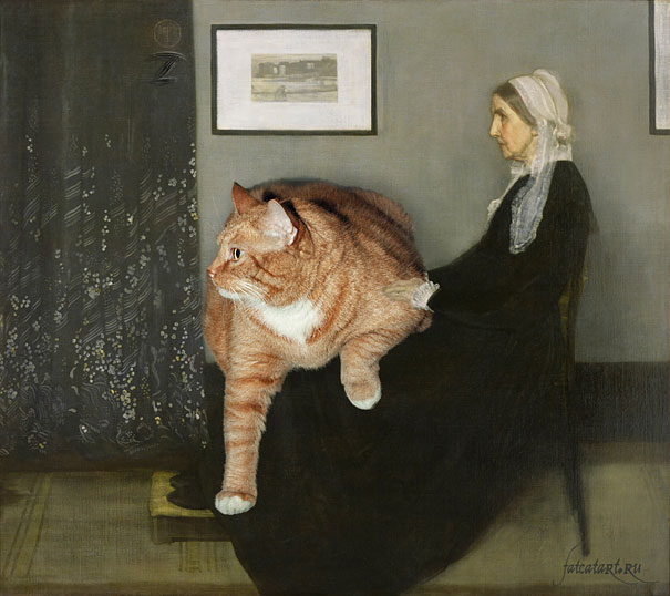 Whistler's Mother by James McNeill Whistler (1871)