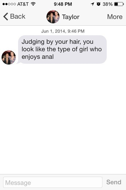 They're almost too good a judge of people's hair.