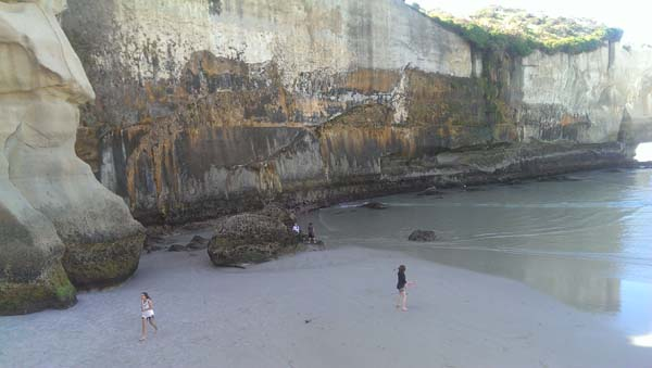 John Cargill Built A Tunnel To A Beautiful Beach After Losing His Daughter