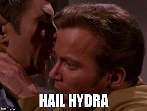 hail hydra meme star trek