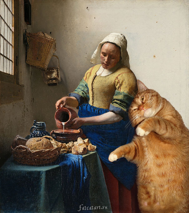 The Kitchen Maid by Johannes Vermeer (1657–1658)