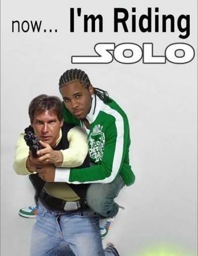 star wars puns riding solo