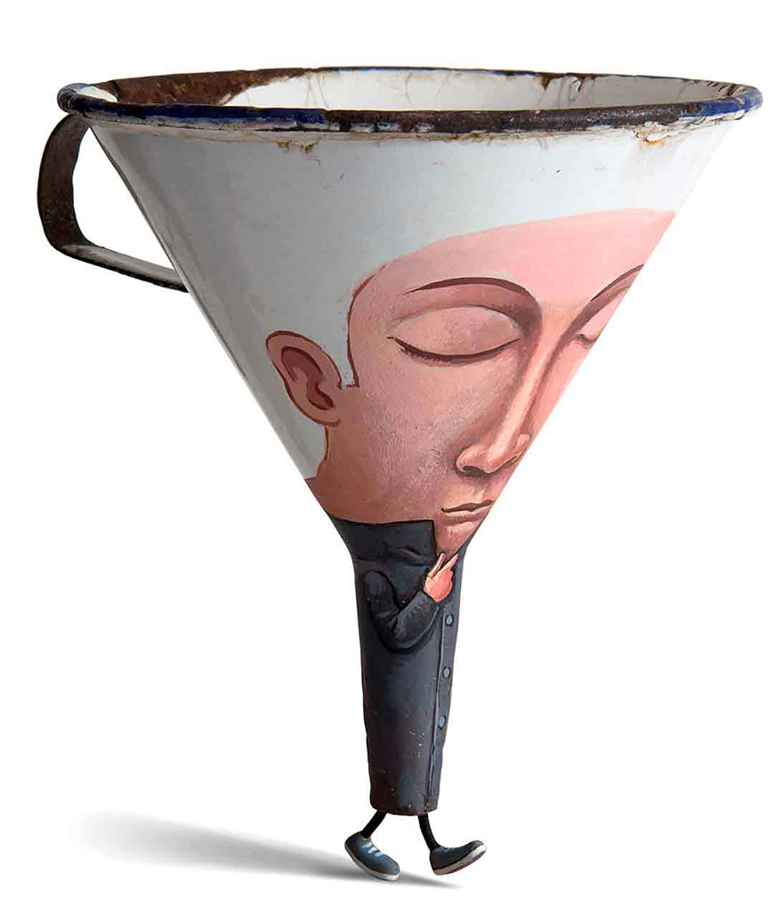 Creative French Artist Turns Ordinary Objects Into Whimsical Characters