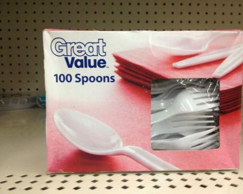 you had ONE JOB spoons