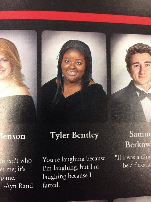 The Newest Yearbook Quotes. This Is Absolutely Going To Make You LOL!