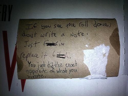 20 Unbelievably Crazy Roommate Notes