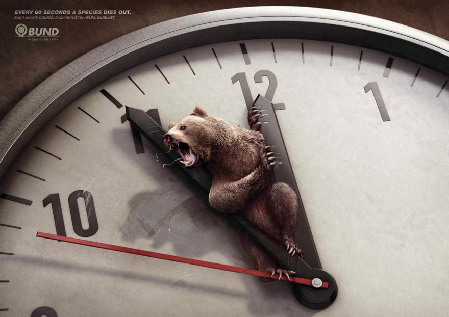Here're 33 Animal Ad Campaigns That Help Raise the Awareness of Animal Protection. We Should All Stop And Think.