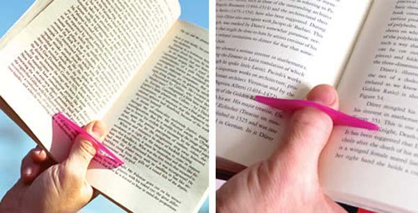 2. Keep your books open while you read with this small tool.