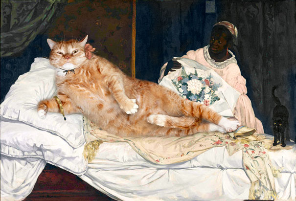 Olympia by Édouard Manet (1863)