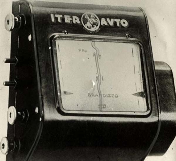 21. This is possibly the first GPS, an auto-scrolling map that would help people navigate in real time (1930).