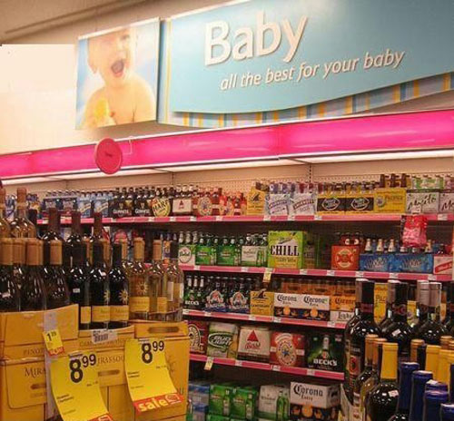 you had ONE JOB best for baby liquor