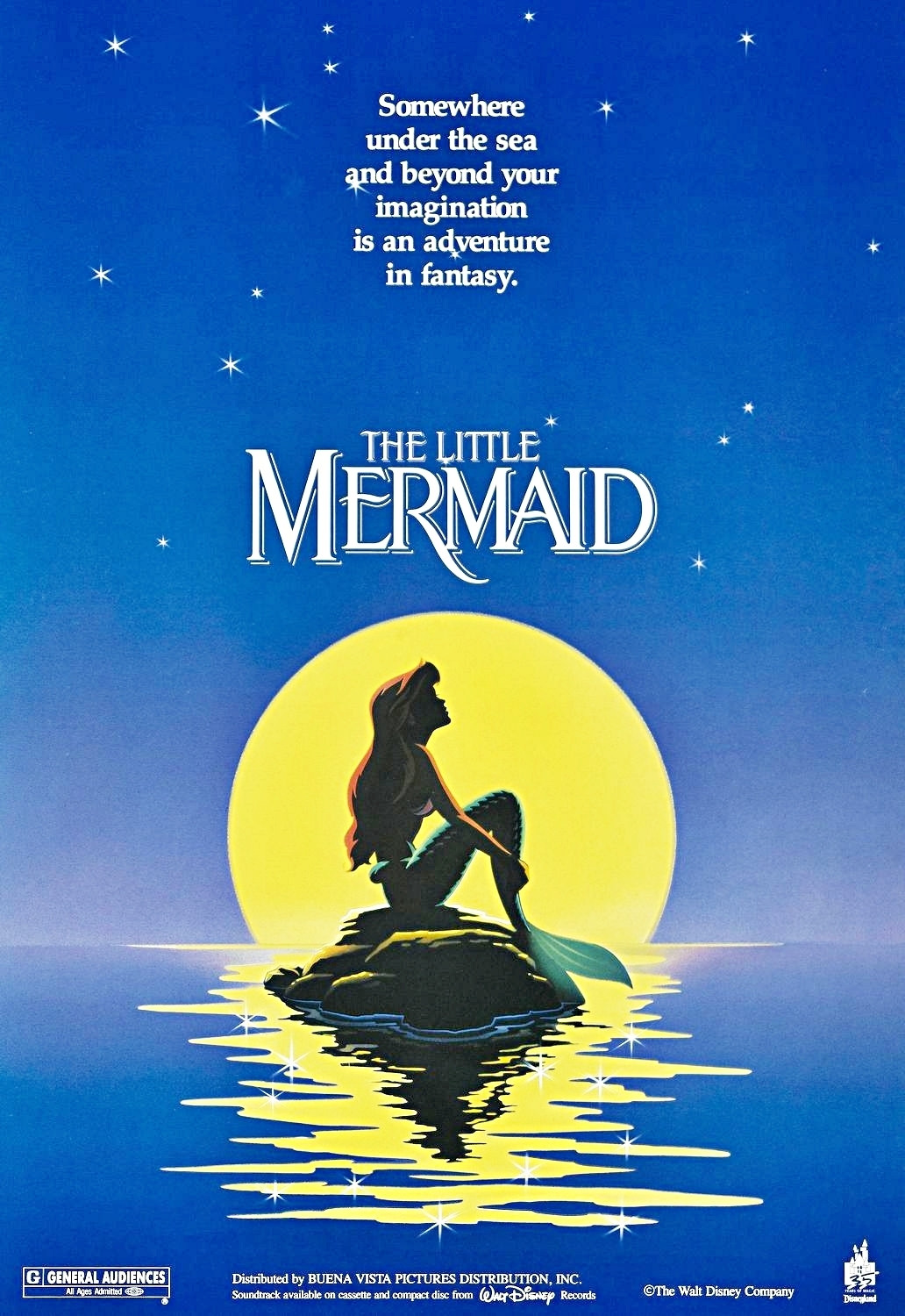brilliantly designed posters of the Disney Renaissance The Little Mermaid