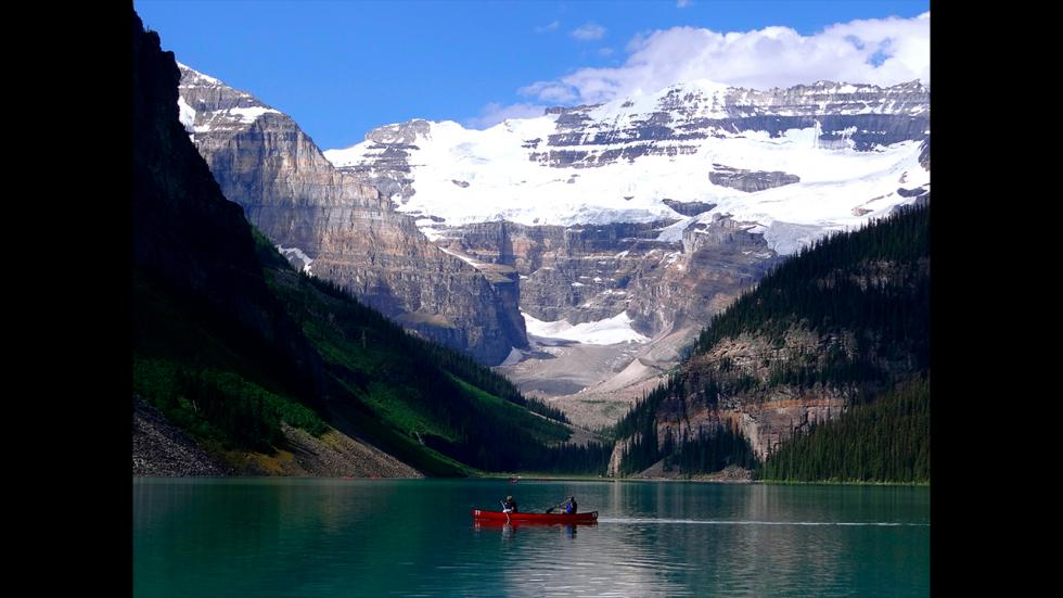 It's amazing out there awesome pictures Splendor from a Canoe