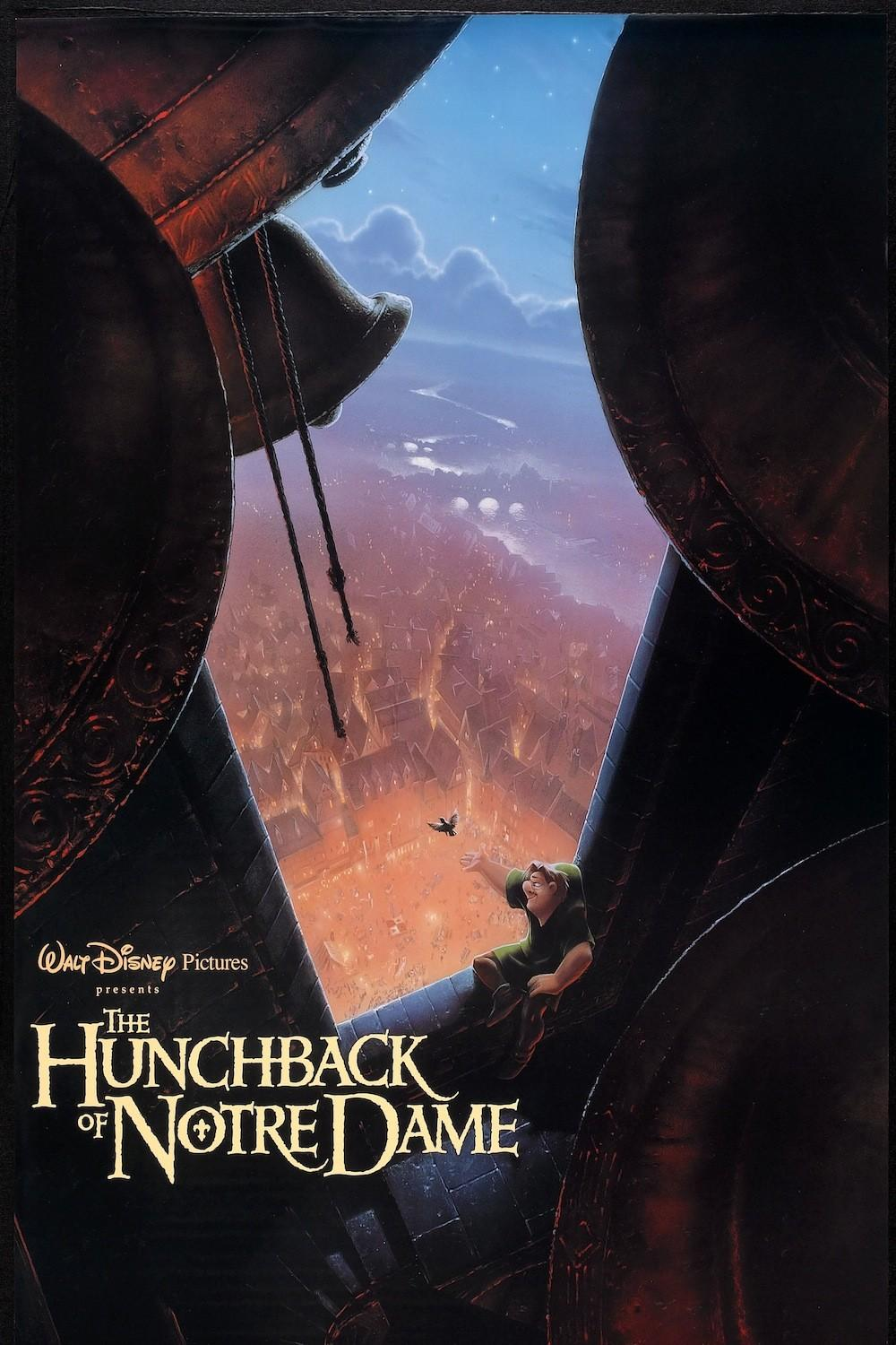 brilliantly designed posters of the Disney Renaissance The Hunchback of Notre Dame
