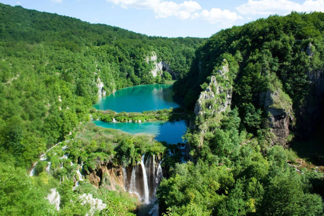 swim places spots pools 19. Plitvice Lakes, Croatia