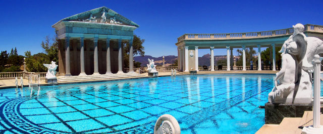 swim places spots pools 8. Hearst Castle, California