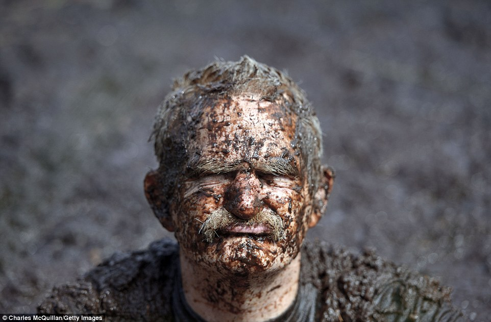the Northern Ireland Bog Snorkeling Championships is on. want to swim in muddy water?