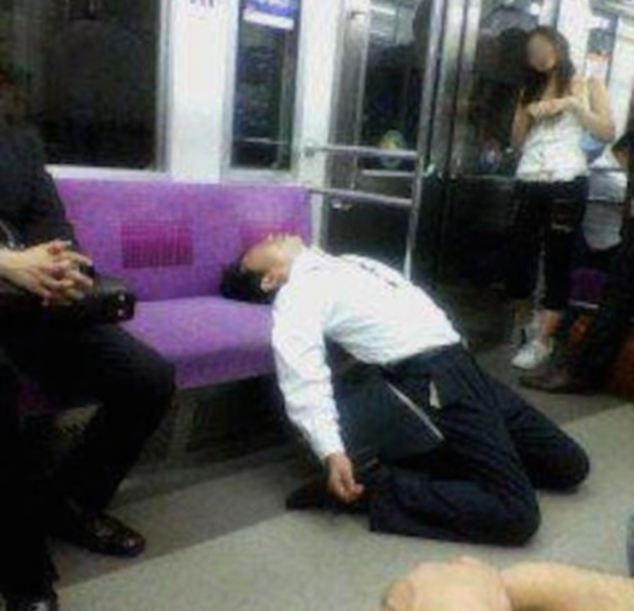 I Know Life Is Hard For The Japanese 'Salarymen'