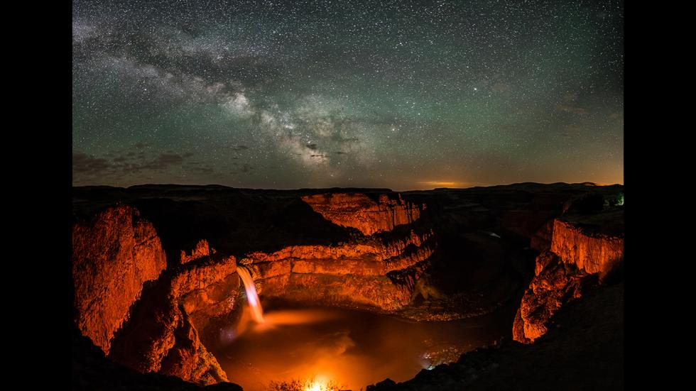 It's amazing out there awesome pictures Fire Above, Fire Below