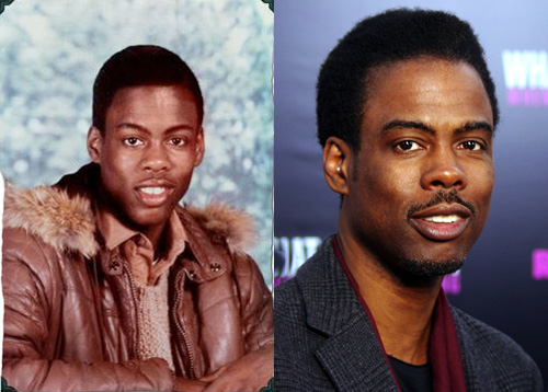 photos of comedy actors when they were kids chris rock