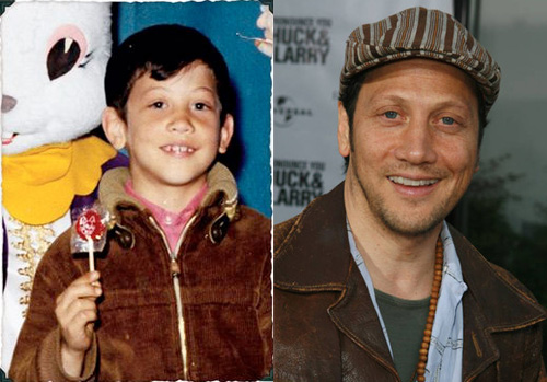 photos of comedy actors when they were kids rob schneider