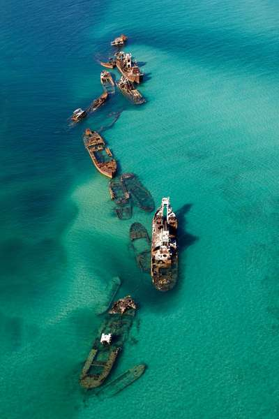 Sand Bar Off the Bermuda Triangle That Caught 16 Ships