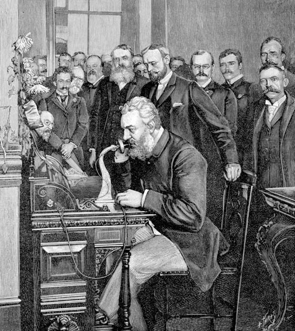 "13.) Alexander Graham Bell originally wanted people to greet each other on the telephone by saying ""ahoy!"""